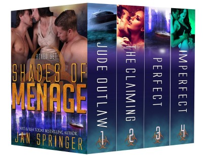 Shades of Ménage: A Ménage Romance Box Set Series – Ultimate Four-Book Collection
